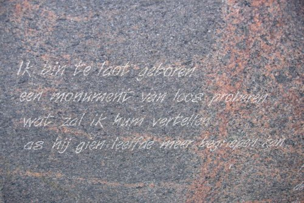 Monument Westerveen