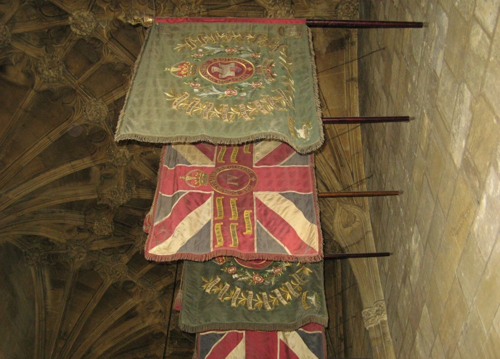 Regimental Colours Dorsetshire Regiment