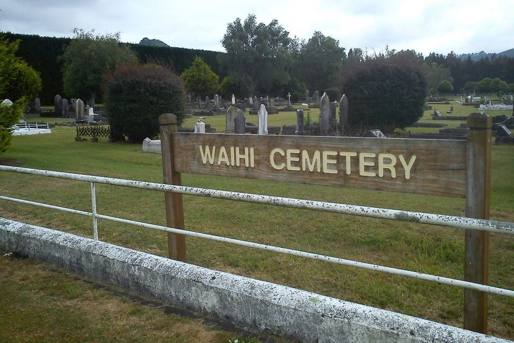Commonwealth War Graves Waihi Public Cemetery