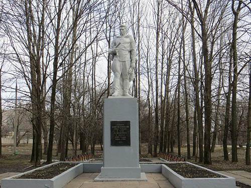 Mass Grave Soviet Soldiers Kharkiv