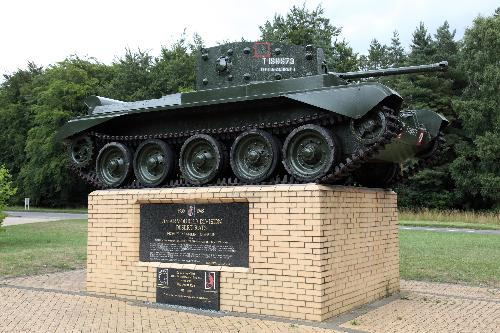 Memorial 7th Armoured Division (Mark IV Cromwell Tank)