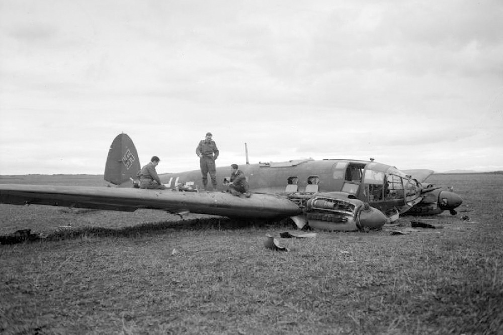 Crash Location Heinkel 111H