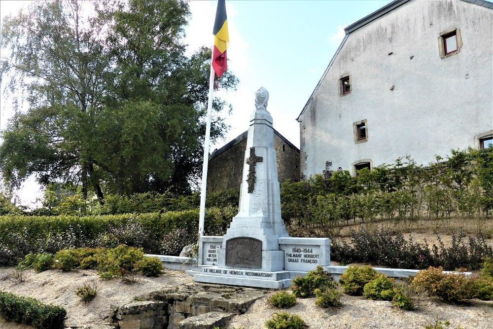 War Memorial Heinsch