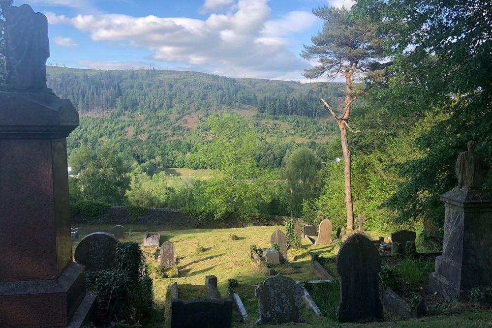Oorlogsgraven van het Gemenebest Abercynon Cemetery