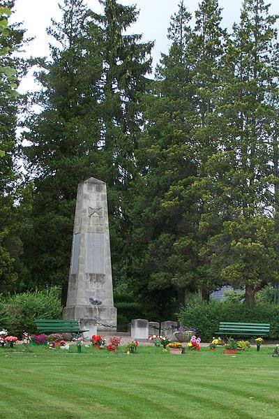 Sovjet Oorlogsbegraafplaats Bad Liebenstein