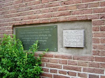 Joods Monument Grave