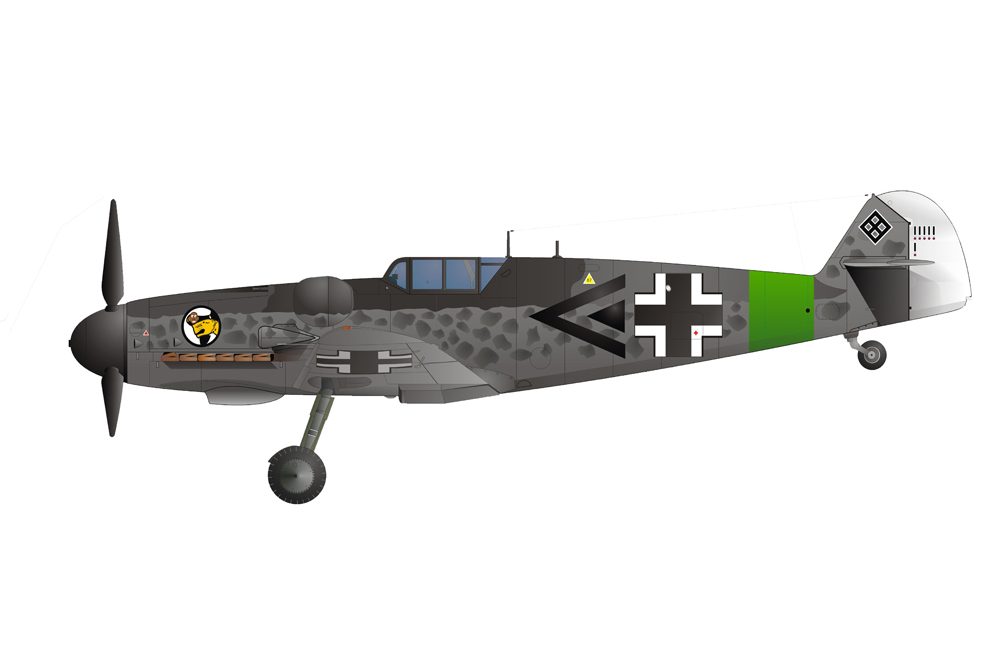 Crash Site Messerschmitt Bf 109G-6 27116