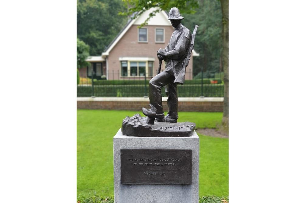Monument gesneuvelden van de Vrijwillige Landstorm