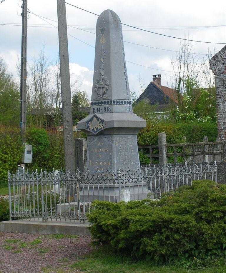 World War I Memorial Le Souich