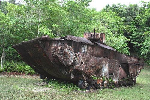 LVT(A)-1 Landing Vehicle Peleliu