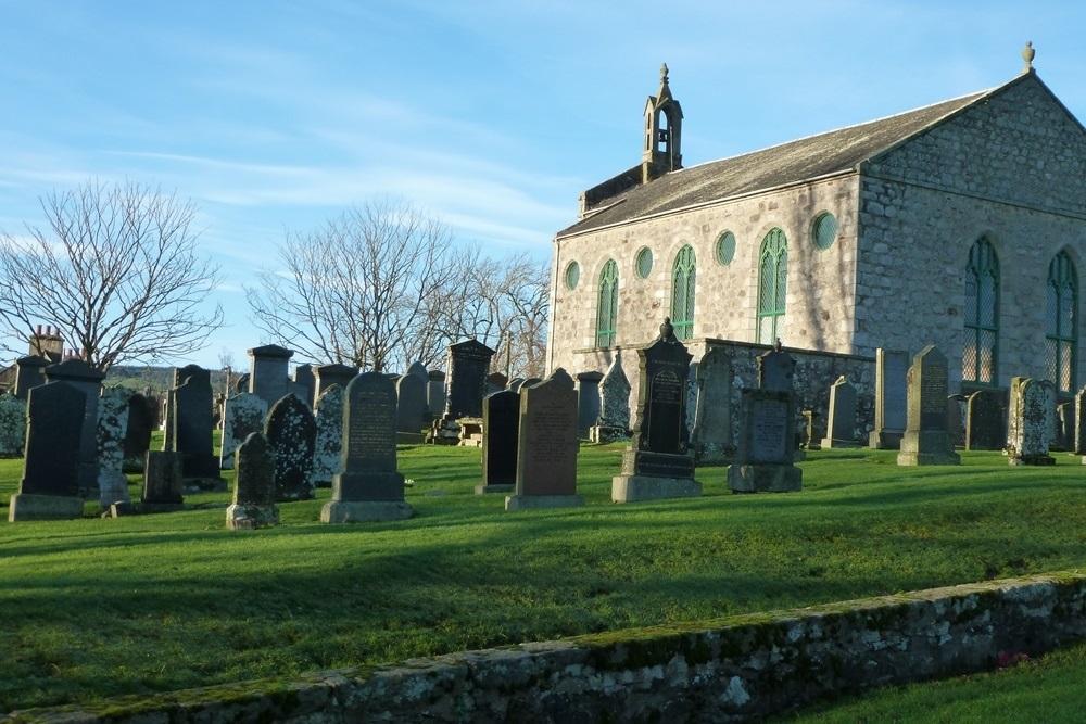 Commonwealth War Graves Forgue Parish Churchyard