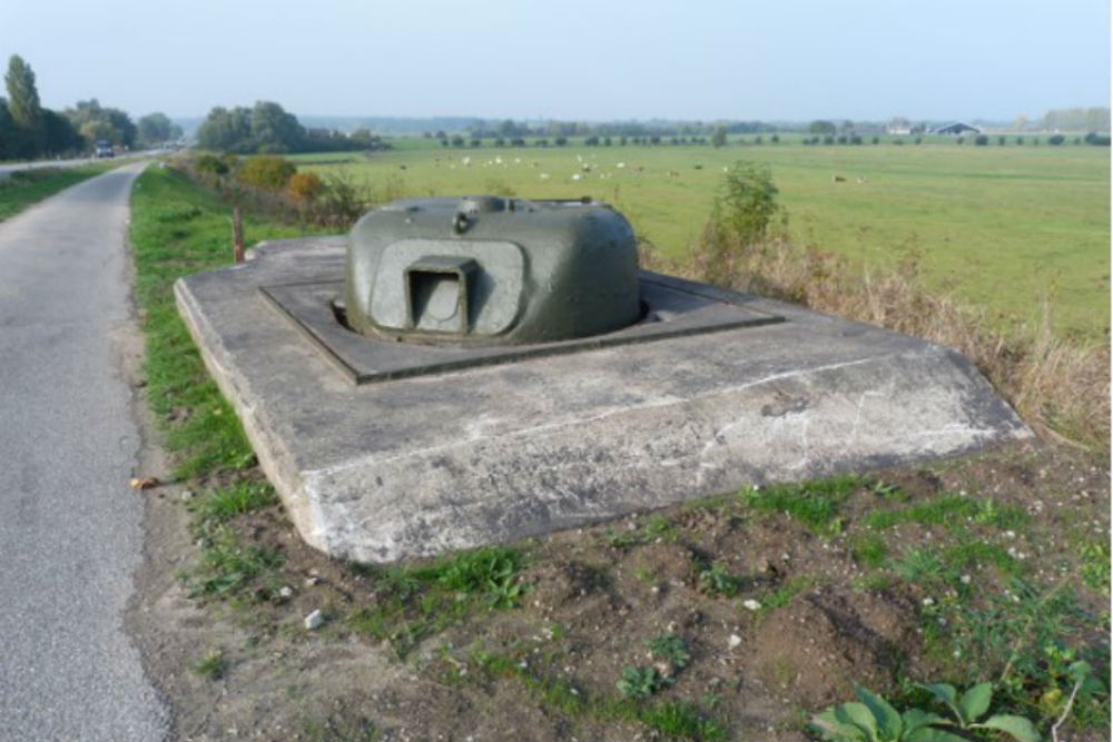 Concrete Encased M4 Sherman Tank Eden Doesburg