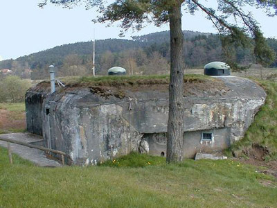 Maginotlinie - Kazemat Dambach Nord (Neunhoffen)