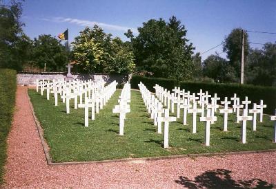 Former Belgian War Cemetery Kanne