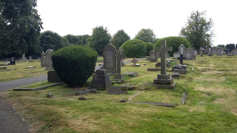 Oorlogsgraven van het Gemenebest Atherstone Cemetery