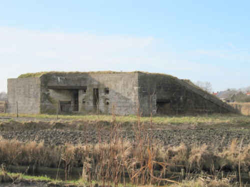 Stützpunkt Krimhild Landfront Vlissingen New Abeele bunker 5 type 630
