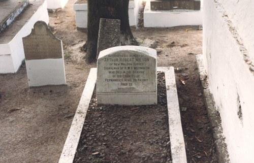Commonwealth War Graves Santo Amaro British Cemetery