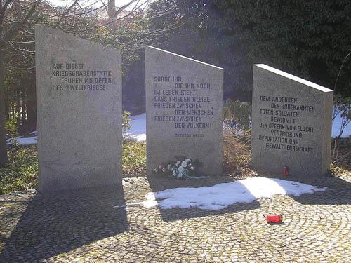 Duitse Oorlogsgraven Ilmenau