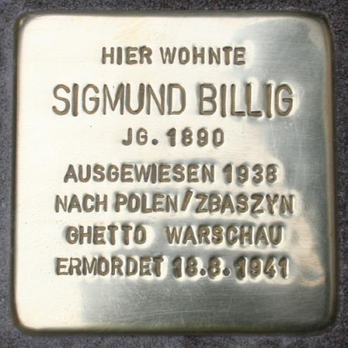Stolperstein Kaiserstraße 211