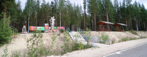 Massagraf Sovjetsoldaten Alakurtti 1944