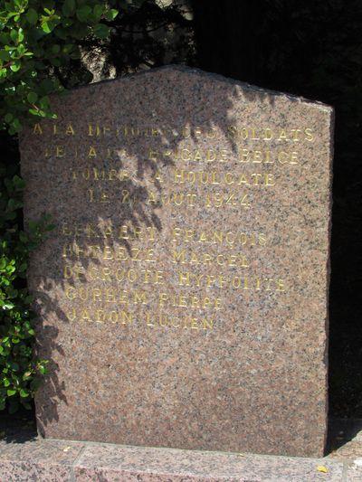 Memorial Fallen Belgian Soldiers Houlgate
