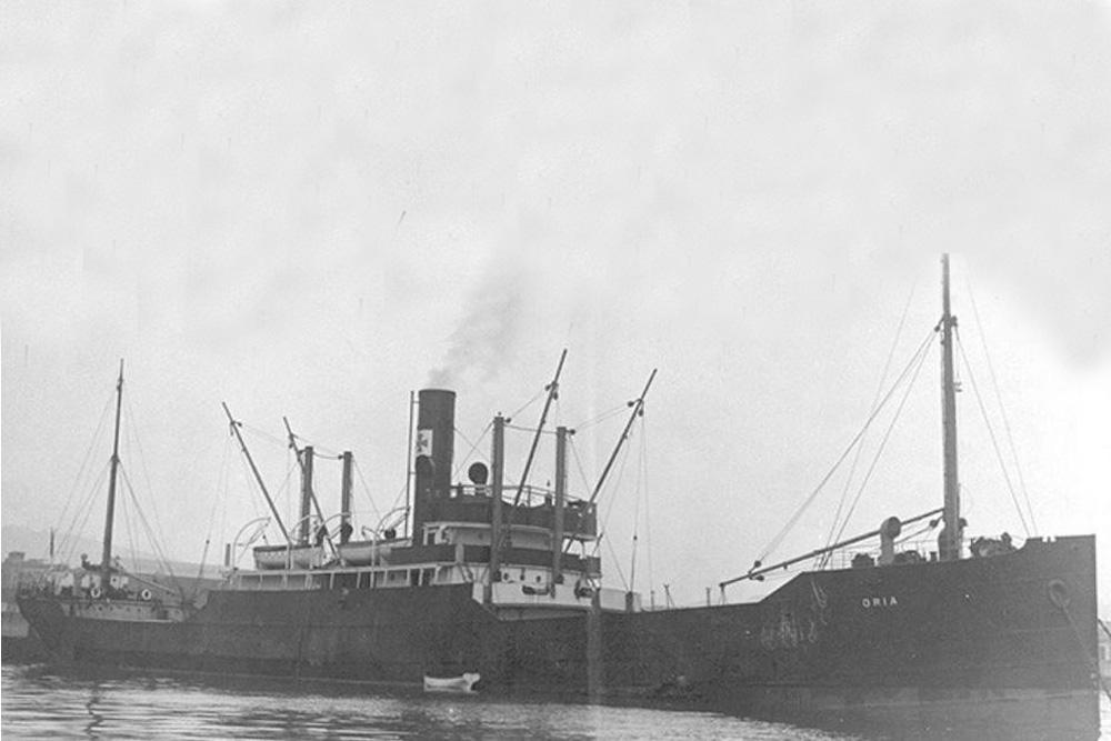 Shipwreck S.S. Oria