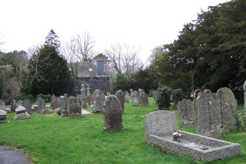 Oorlogsgraven van het Gemenebest St. Cynog Churchyard
