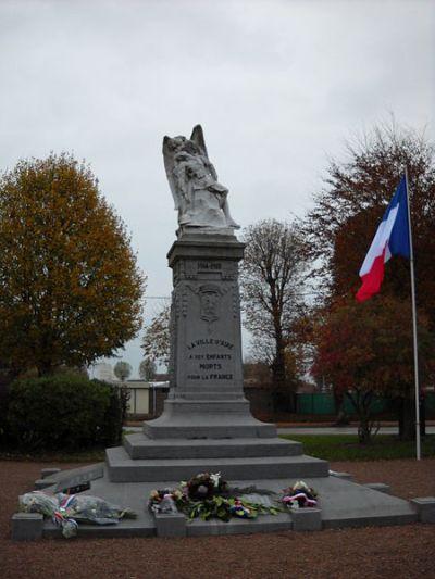 Oorlogsmonument Aire-sur-la-Lys