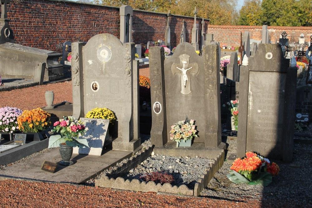 Belgian War Grave Molenbaix