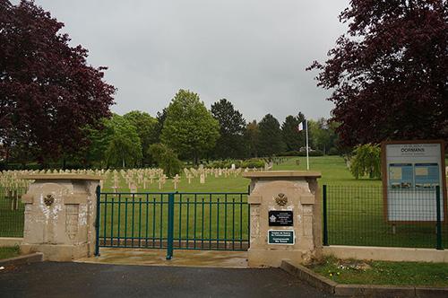 Franse Oorlogsbegraafplaats Dormans