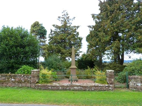 Memorial John William Watson