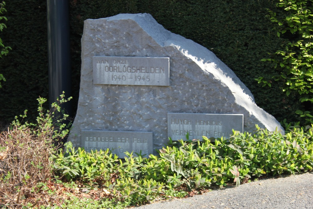 Monument Tweede Wereldoorlog Ruisbroek