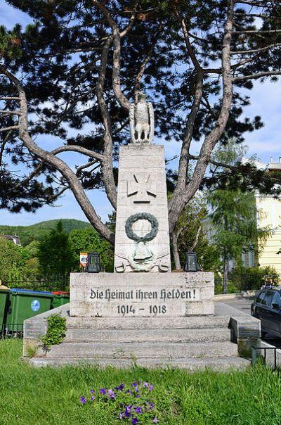 War Memorial Hadersdorf-Weidlingau