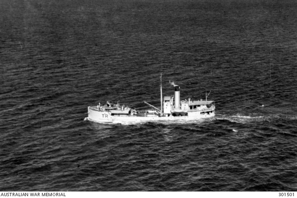 Shipwreck HMAS Terka (TR)