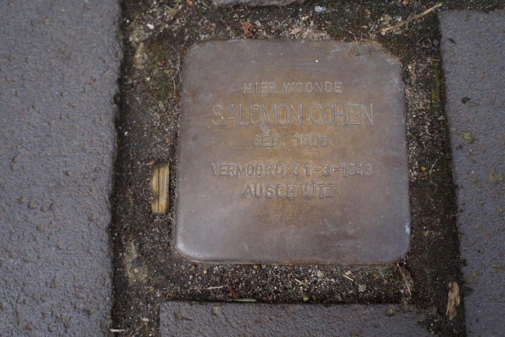 Stumbling Stone Lange Hofstraat 11