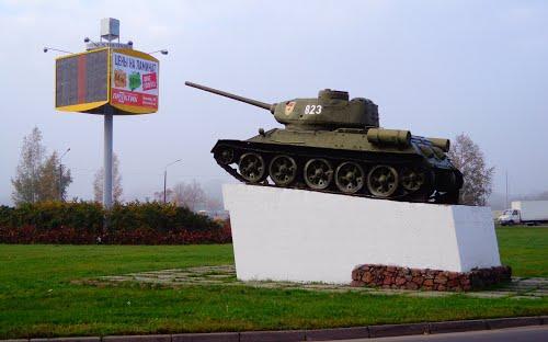 Bevrijdingsmonument (T-34/85 Tank) Polotsk