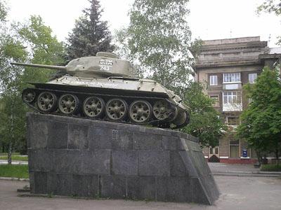 Bevrijdingsmonument (T-34/85 Tank) Kramatorsk