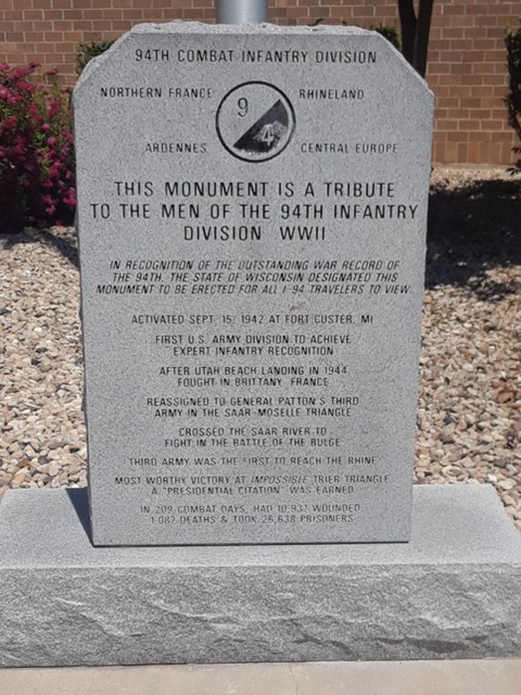 Monument 94th Combat Infantry Division