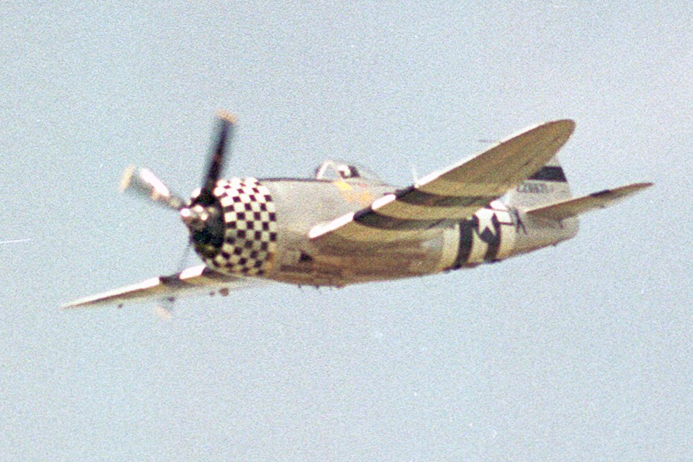 Crashlocatie Republic P-47D Thunderbolt