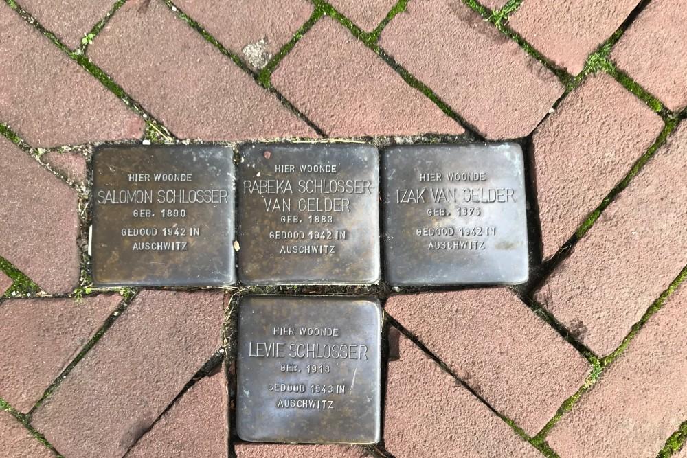 Stumbling Stones Nieuwe Kerkstraat 22