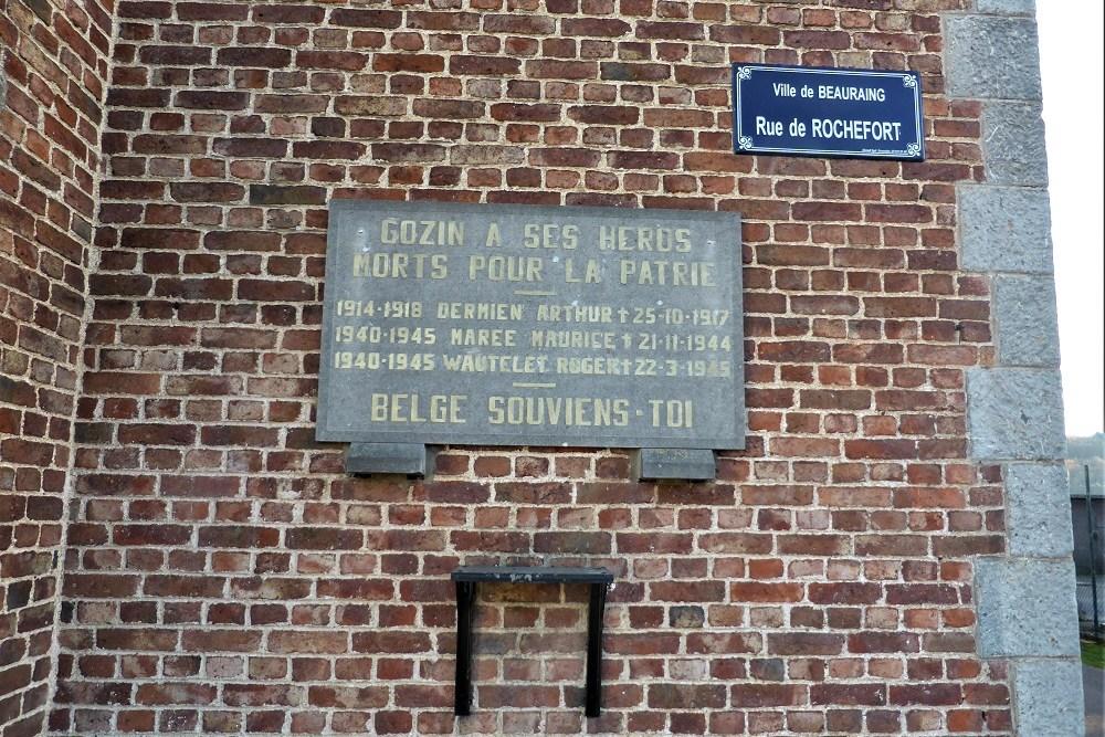 Commemorative Plaque Gozin