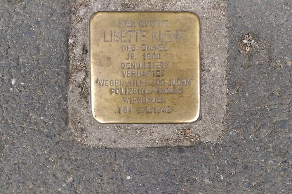 Stumbling Stone Helenenstraße 18
