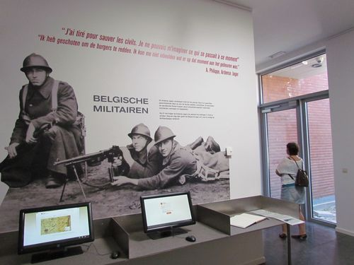 Visitor Centre 'What Man Is Capable Of' May 1940 Vinkt