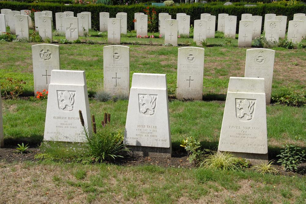 Czechoslovakian War Graves General Cemetery Woensel Eindhoven