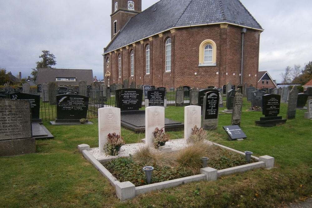 Oorlogsgraven van het Gemenebest Protestant Kerkhof Driesum