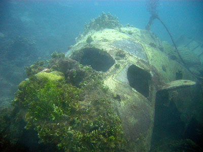 Crash Site & Remains Kawanishi H8K Flying Boat