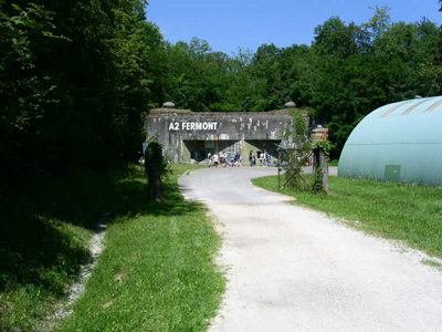 Maginot Line - Fort Fermont