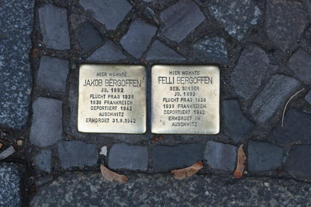 Stumbling Stones Sophienstraße 6