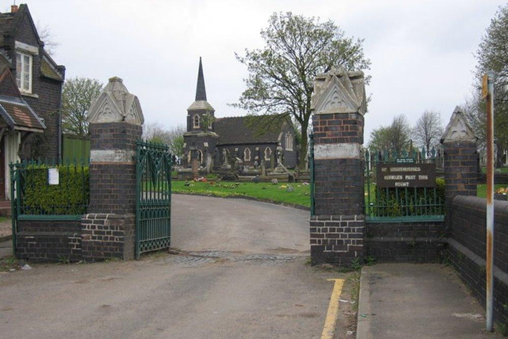 Oorlogsgraven van het Gemenebest James Bridge Cemetery