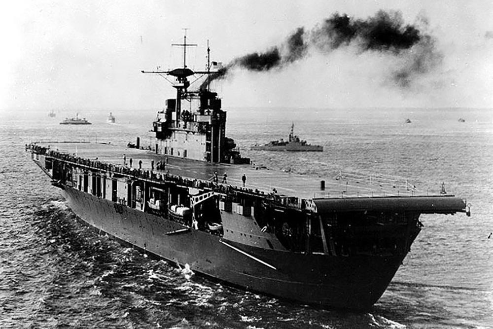 Scheepswrak USS Hornet (CV-8)